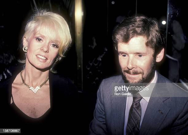 Actress Joey Heaterton and David Cole attend Love Leads The Way Seeing Eye Benefit Party on September 24 1984 at the Rainbow Room in New York City