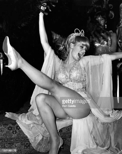 Actress Joey Heatherton attends A Celestial Fantasie Ball on November 19 1966 at the Biltmore Hotel in New York City