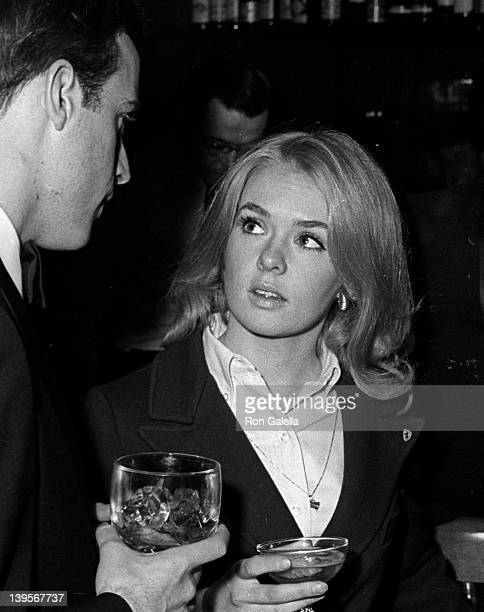 Actress Joey Heatherton attends the grand opening of The Tarkington Club on May 13 1968 in New York City