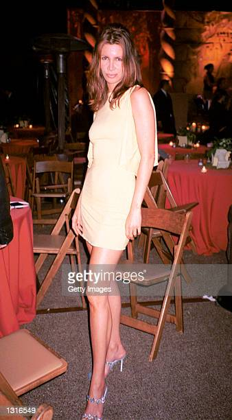 """Actress Joey House mingles at the """"Lara Croft Tomb Raider"""" post premiere party June 11, 2001 in Westwood, CA."""
