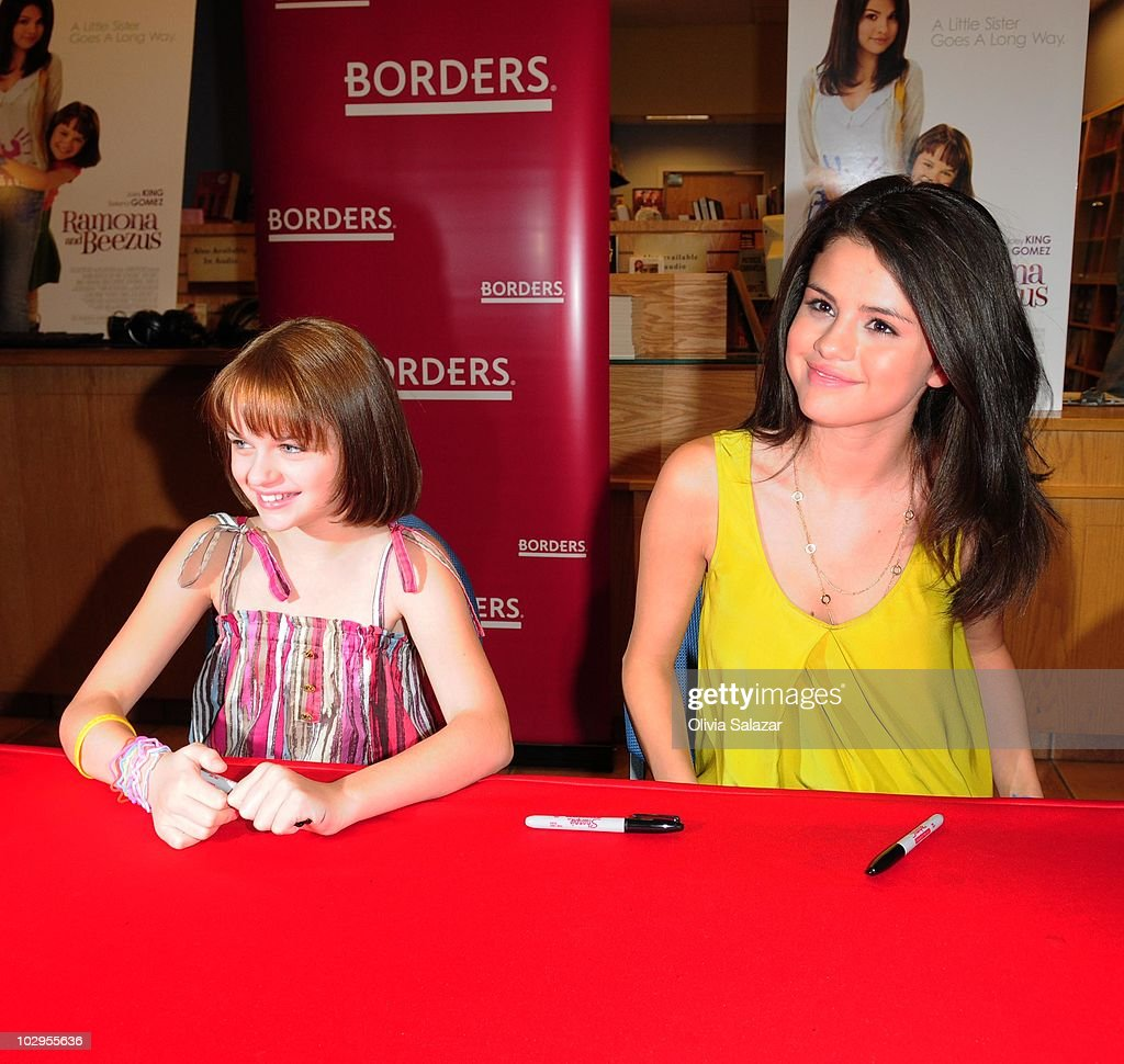 Selena gomez and joey king fan meet and greet photos and images selena gomez and joey king fan meet and greet m4hsunfo Image collections