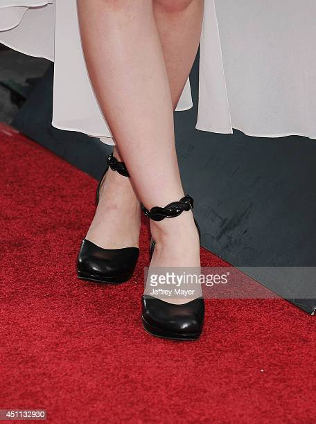 Actress Joey King at the 'Wish I Was Here' Los Angeles premiere on June 23 2014 at the DGA Theater in Los Angeles California