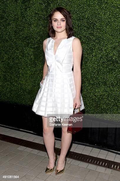 Actress Joey King attends Teen Vogue Celebrates the 13th Annual Young Hollywood Issue with Emporio Armani on October 2 2015 in Beverly Hills...