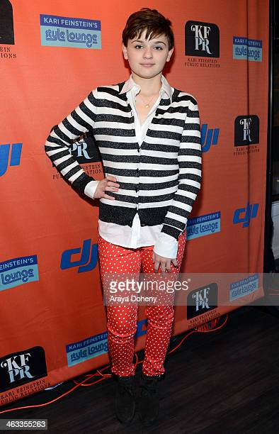 Actress Joey King attends the Kari Feinstein Style Lounge on January 17 2014 in Park City Utah