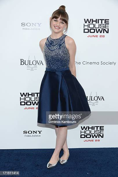 Actress Joey King attends the 'White House Down' New York premiere at Ziegfeld Theater on June 25 2013 in New York City