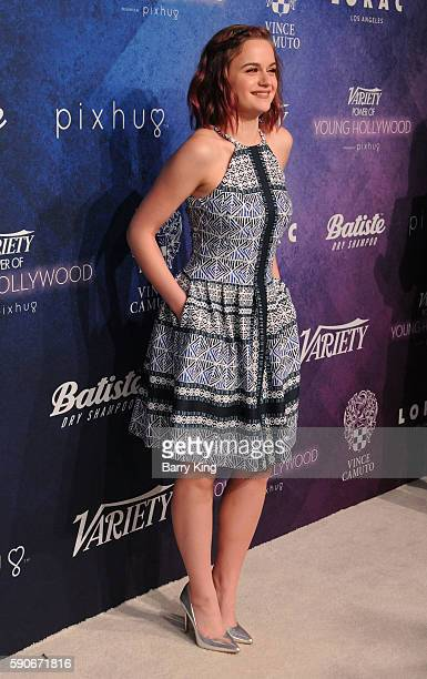 Actress Joey King attends Variety's Power of Young Hollywood event presented by Pixhug with Platinum Sponsor Vince Camuto at NeueHouse Hollywood on...