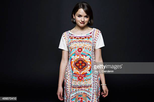 Actress Joey King is photographed for Los Angeles Times on November 7 2014 in Hollywood California PUBLISHED IMAGE CREDIT MUST READ Jay L...