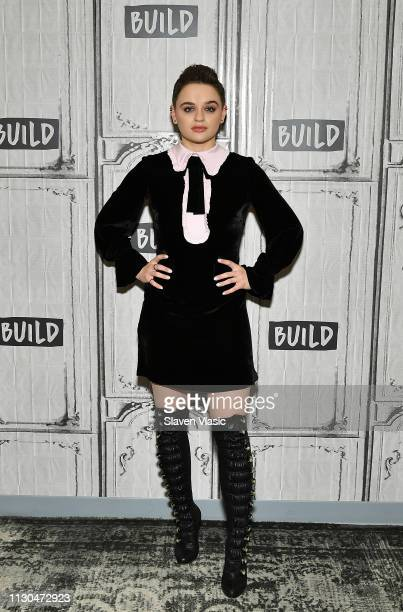 Actress Joey King visits Build Series to discuss Hulu's The Act at Build Studio on March 14 2019 in New York City