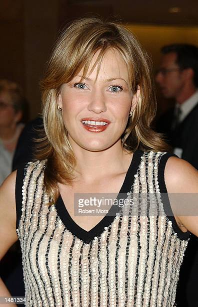 Actress Joey Lauren Adams attends the Casting Society of America's18th Annual Artios Awards at the Beverly Hilton Hotel on October 17 2002 in Beverly...