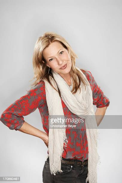 Actress Joey Lauren Adams is photographed for Entertainment Weekly Magazine on January 19 2013 in Park City Utah