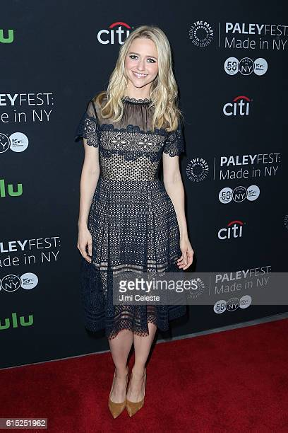 """Actress Johanna Braddy attends PaleyFest New York 2016 - """"Quantico"""" at The Paley Center for Media on October 17, 2016 in New York City."""