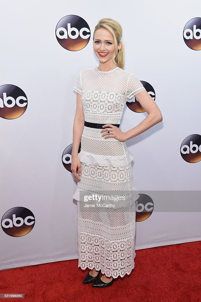 Actress Johanna Braddy attends the 2016 ABC Upfront at David Geffen Hall on May 17, 2016 in New York City.