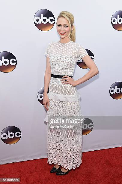 Actress Johanna Braddy attends the 2016 ABC Upfront at David Geffen Hall on May 17 2016 in New York City
