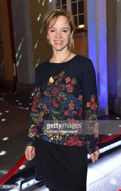 Actress Johanna Klante during the NdF after work press cocktail at Parkcafe on March 15 2017 in Munich Germany
