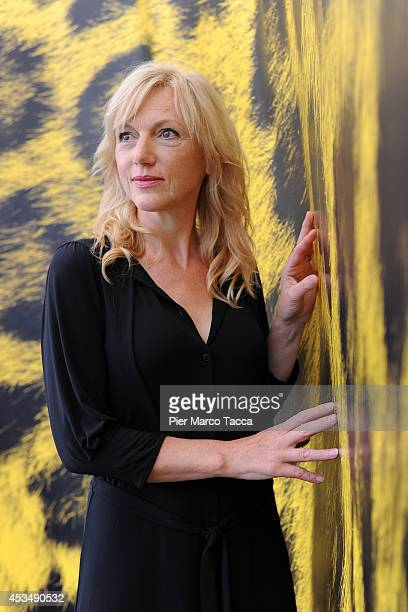 Actress Johanna Ter Steege attends the 'A La Vie' Photocall during the 67th Locarno Film Festival on August 11 2014 in Locarno Switzerland