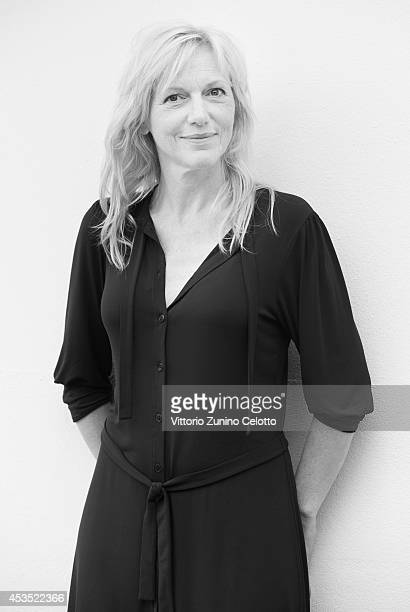 Actress Johanna Ter Steege poses on August 11 2014 in Locarno Switzerland