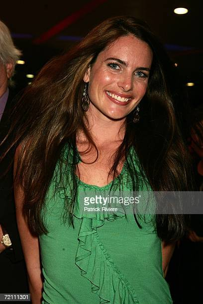 Actress Jolene Anderson arrives at the world premiere of Priscilla Queen Of The Desert The Musical at the Lyric Theatre Star City on October 7 2006...