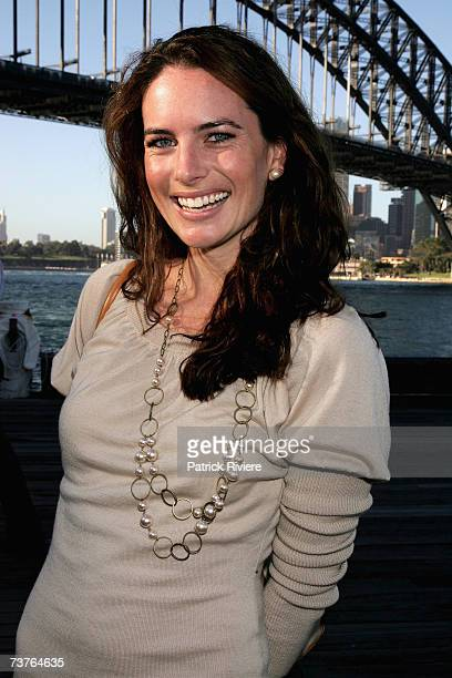 Actress Jolene Anderson attends the nominations announcement for the 2007 TV Week Logie Awards, at Luna Park on April 2, 2007 in Sydney, Australia....