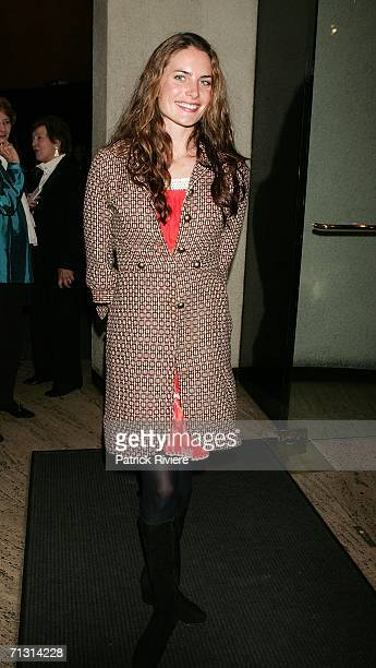 Actress Jolene Anderson attends the opening night of The Woman in Black at the Royal theatre June 28 2006 in Sydney Australia