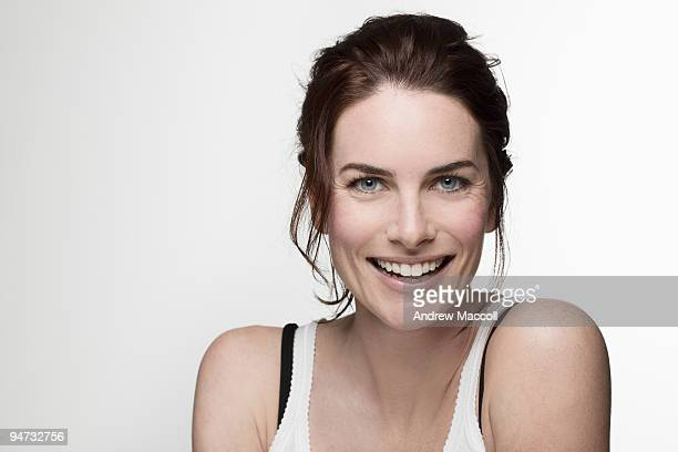 Actress Jolene Anderson poses at a portrait session in Melbourne, Australia on September 5, 2009. .