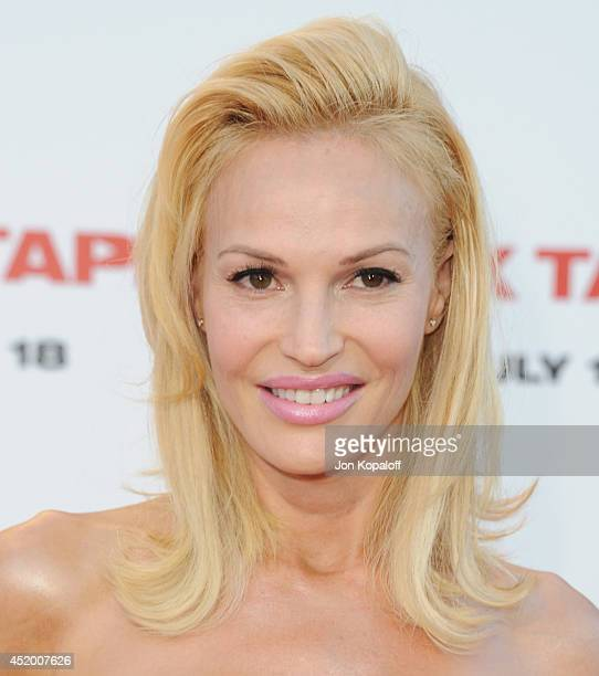 Actress Jolene Blalock arrives at the Los Angeles Premiere Sex Tape at Regency Village Theatre on July 10 2014 in Westwood California