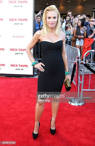 Actress Jolene Blalock arrives at the Los Angeles Premiere 'Sex Tape' on July 10 2014 at Regency Village Theatre in Westwood California