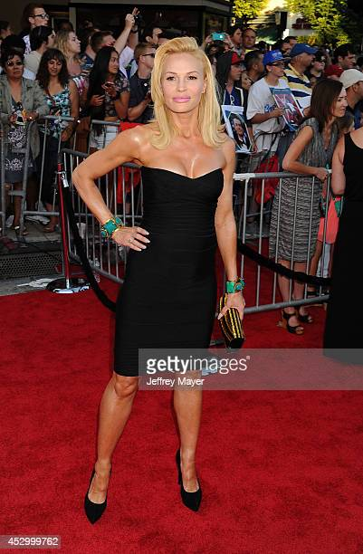Actress Jolene Blalock arrives at the Sex Tape Los Angeles Premiere at Regency Village Theatre on July 10 2014 in Westwood California