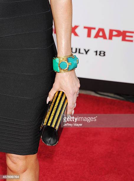 Actress Jolene Blalock at the Sex Tape Los Angeles Premiere at Regency Village Theatre on July 10 2014 in Westwood California