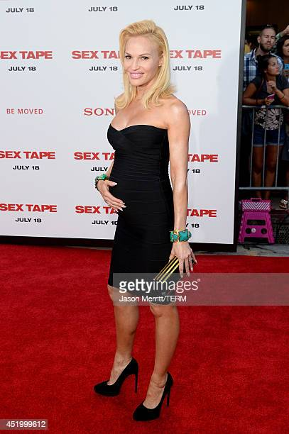 Actress Jolene Blalock attends premiere of Columbia Pictures' Sex Tape at Regency Village Theatre on July 10 2014 in Westwood California
