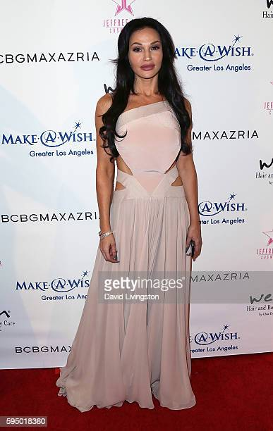 Actress Jolene Blalock attends the Make-A-Wish Greater Los Angeles Fashion Fundraiser at Taglyan Cultural Complex on August 24, 2016 in Hollywood,...