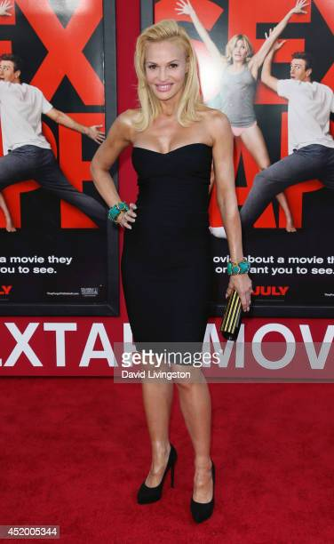 Actress Jolene Blalock attends the premiere of Columbia Pictures' Sex Tape at the Regency Village Theatre on July 10 2014 in Westwood California