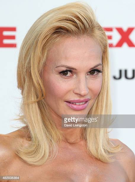 "Actress Jolene Blalock attends the premiere of Columbia Pictures' ""Sex Tape"" at the Regency Village Theatre on July 10, 2014 in Westwood, California."