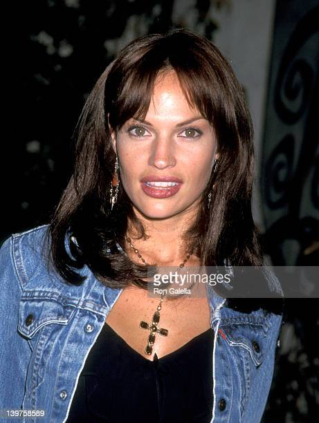 Actress Jolene Blalock attends UPN Network Winter TCA Press Tour on January 14 2002 at the Twin Peaks Hotel in Pasadena California