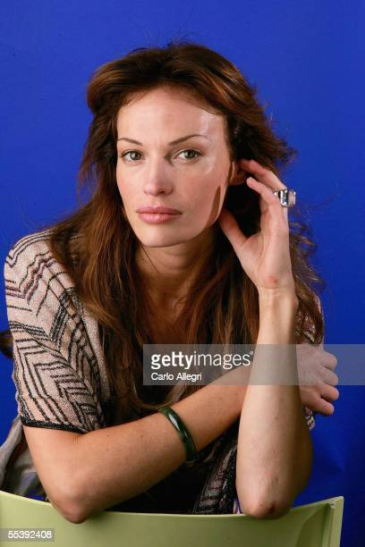 Actress Jolene Blalock poses for a portrait while promoting the film Slow Burn at the Toronto International Film Festival September 12 2005 in...