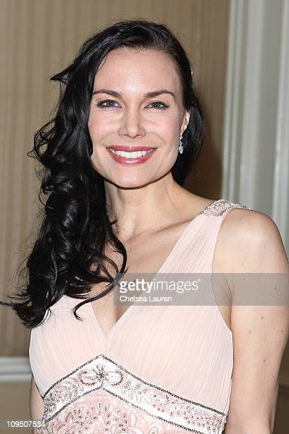 Actress Jon Mack arrives at the 21st Annual Night of 100 Stars Awards Gala at Beverly Hills Hotel on February 27, 2011 in Beverly Hills, California.