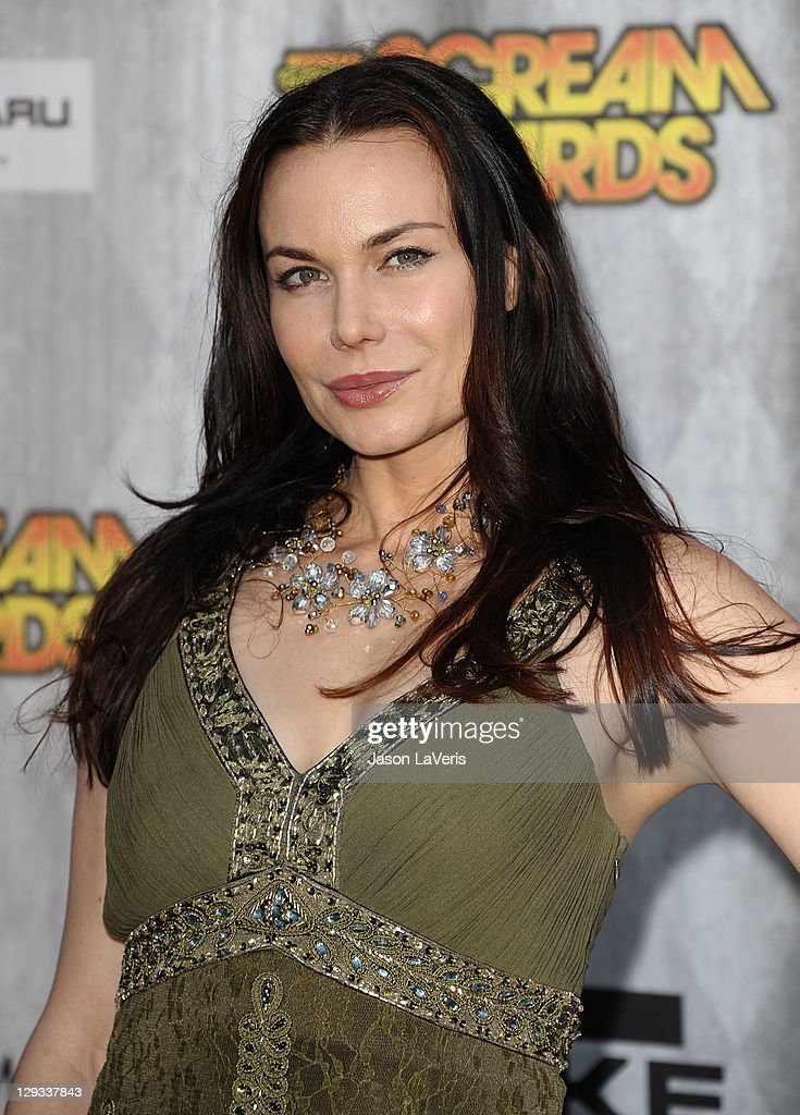 Actress Jon Mack attends Spike TV's 2011 Scream Awards at Gibson Amphitheatre on October 15, 2011 in Universal City, California.