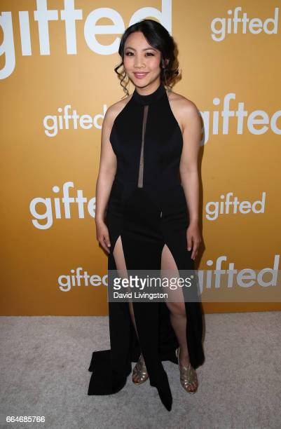 Actress Jona Xiao attends the premiere of Fox Searchlight Pictures' 'Gifted' at Pacific Theaters at The Grove on April 4 2017 in Los Angeles...
