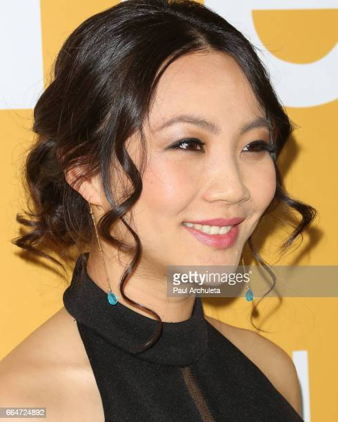 Actress Jona Xiao attends the premiere of 'Gifted' at Pacific Theaters at the Grove on April 4 2017 in Los Angeles California