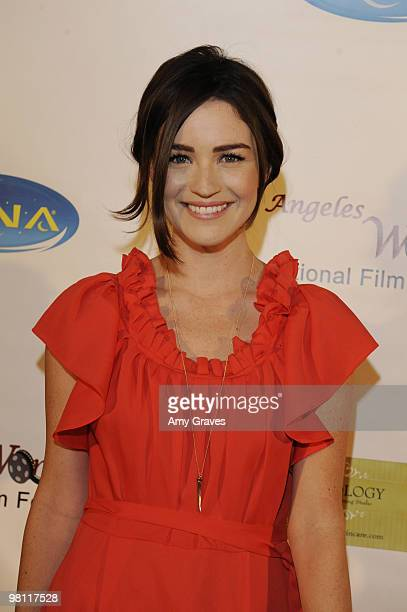 Actress Jonna Walsh attends the Los Angeles Women's International Film Festival Opening Night Gala at Libertine on March 26 2010 in Los Angeles...