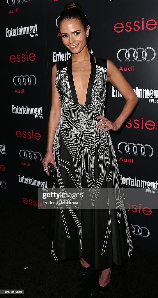 Actress Jordama Brewester attends Entertainment Weekly Screen Actors Guild Awards Pre-Party at Chateau Marmont on January 26, 2013 in Los Angeles, California.