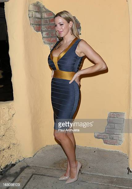 Actress Jordan Carver attends the premiere of Ben Becca at Raleigh Studios on March 3 2013 in Los Angeles California