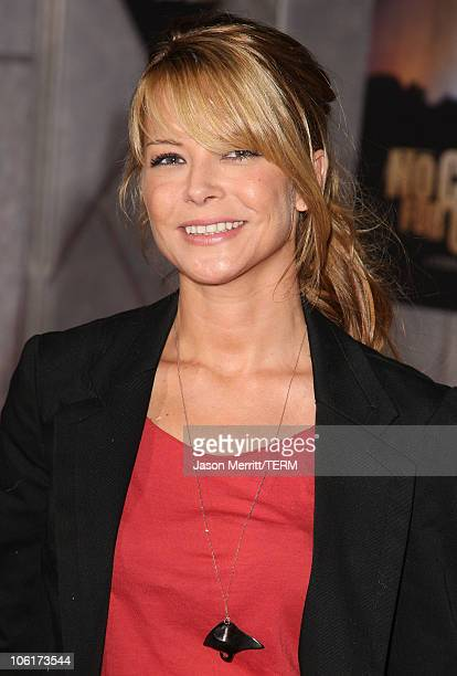 Actress Jordan Ladd arrives at the premiere of Miramax Films' 'No Country For Old Men' held at the El Capitan Theater on November 4 2007 in Hollywood...