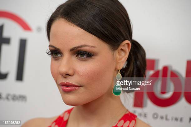 """Actress Jordan Lane Price attends the """"All My Children"""" & """"One Life To Live"""" premiere at Jack H. Skirball Center for the Performing Arts on April 23,..."""