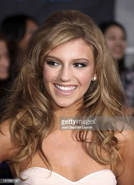Actress Jordan Pruitt arrives at the Los Angeles premiere of Jonas Brothers The 3D Concert Experience at the El Capitan Theatre on February 24 2009...