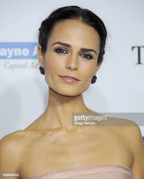 Actress Jordana Brewster arrives at the 2014 Baby2Baby Gala presented by Tiffany Co honoring Kate Hudson at The Book Bindery on November 8 2014 in...