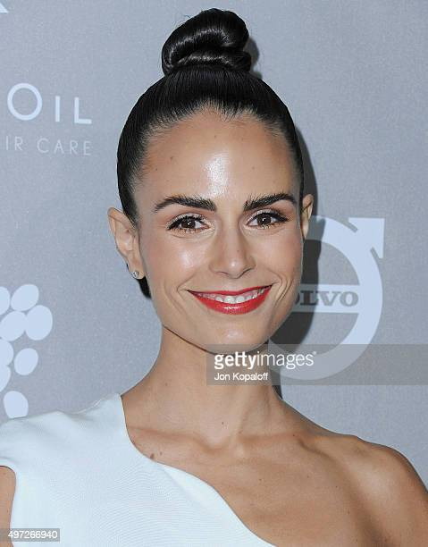 Actress Jordana Brewster arrives at the 2015 Baby2Baby Gala at 3LABS on November 14 2015 in Culver City California