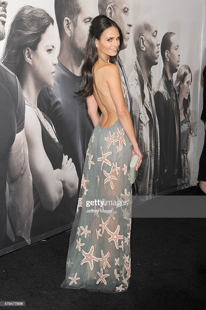 Actress Jordana Brewster arrives at the 'Furious 7' - Los Angeles Premiere at TCL Chinese Theatre IMAX on April 1, 2015 in Hollywood, California.