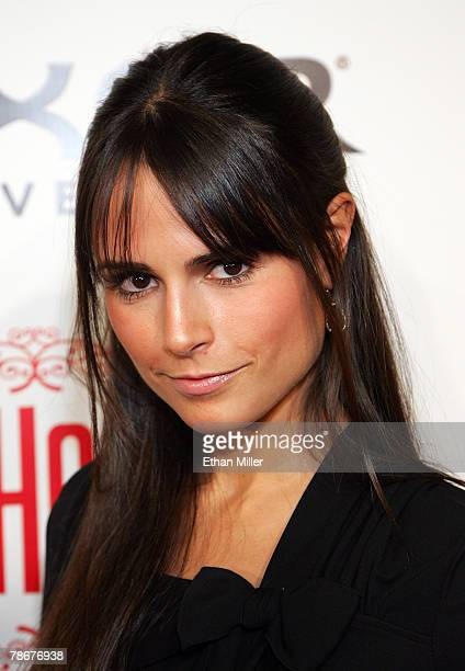 Actress Jordana Brewster arrives at the grand opening of the CatHouse at the Luxor Resort Casino December 29 2007 in Las Vegas Nevada