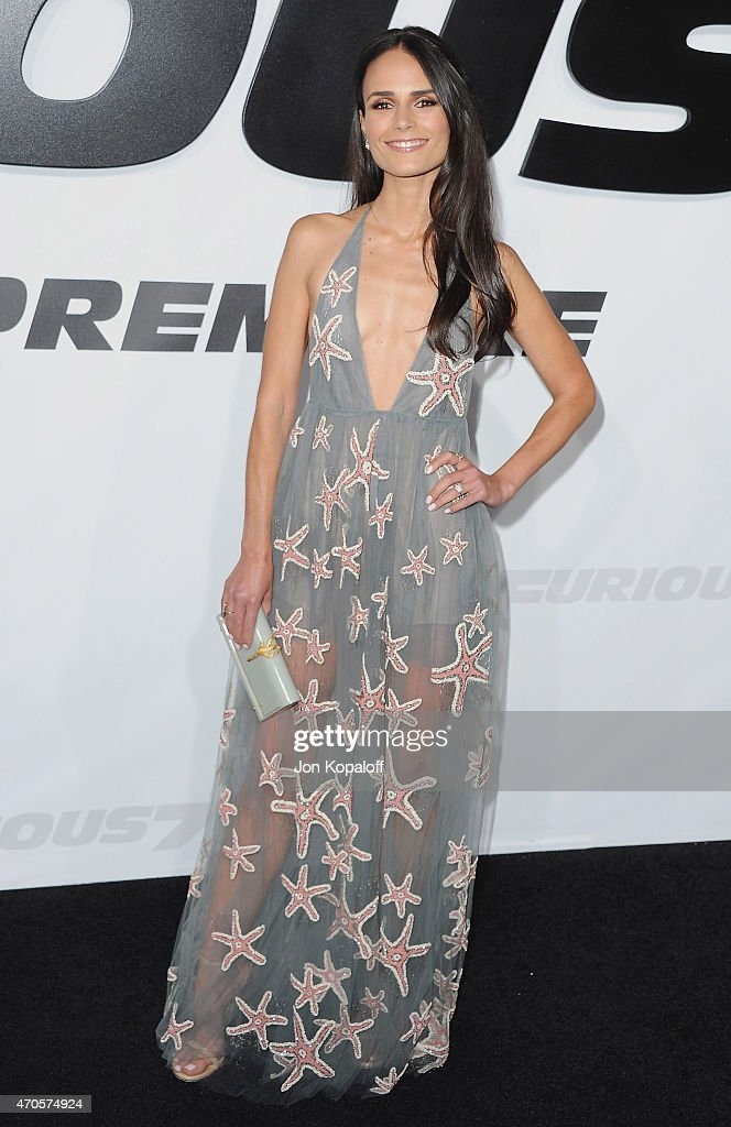 Actress Jordana Brewster arrives at the Los Angeles Premiere 'Furious 7' at TCL Chinese Theatre IMAX on April 1, 2015 in Hollywood, California.