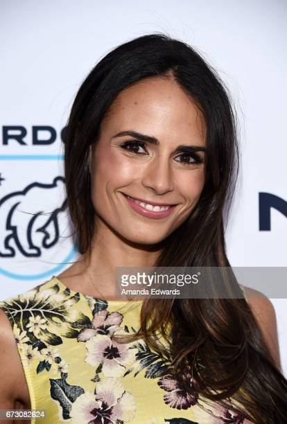 Actress Jordana Brewster arrives at the Natural Resources Defense Council's STAND UP! event at the Wallis Annenberg Center for the Performing Arts on...